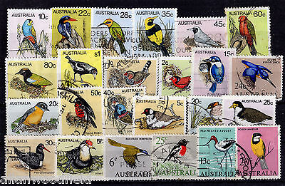 Nice Selection Of Australia Birds  Used   (1607197)