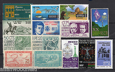 Nice Selection Of Mexico   Mint Nh   (1608072)
