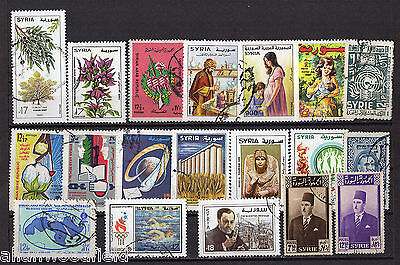 Nice Selection Of Syria  Used  (1606074)