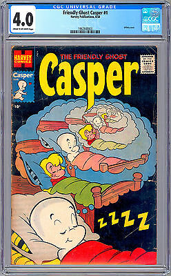 Casper The Friendly Ghost #1 Cgc 4.0 *premiere Issue* Infinity Cover Harvey 1958