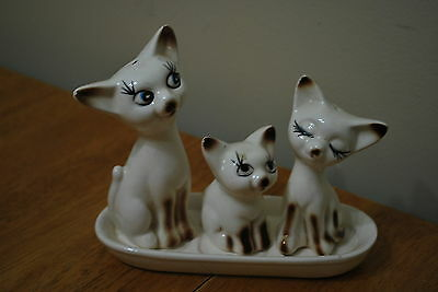 Elongated Three little kittens Salt & Pepper Shakers Set- NICE!!
