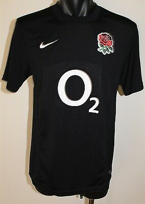 England Rugby Union Nike 02 Jersey Shirt Men's Small
