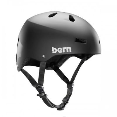 Bern Macon Bike and Skate Helmet - Matte Black Bern