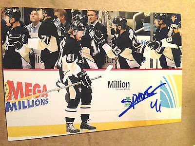 Daniel Sprong SIGNED 4x6 photo PITTSBURGH PENGUINS #8
