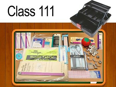 FAS 111 CLASS KIT. French curve, fashion rulers, pattern making tools, muslin