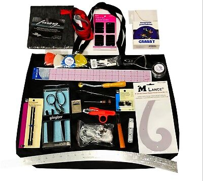 UC Fashion Kit For Fashion Design Students - Rulers, Muslin, Pattern tools