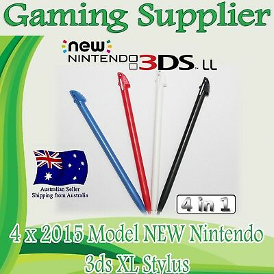 4 X New Nintendo 3DS XL Colorful Stylus Touch Screen Pen