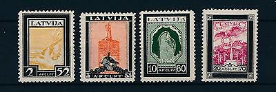 [45173] Latvia 1933 Wounded Aviators Perforated MNH