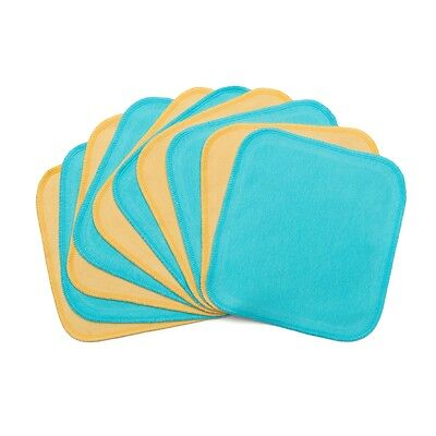 10/Pack KaWaii Baby Multi-Purpose Bamboo Baby Wipes Solid Color