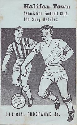 1963/64 Halifax Town v Norwich City (League Cup 4th Round)