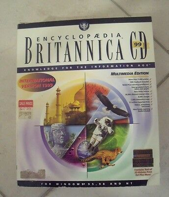 Encyclopaedia Britannica Cd 99 Multimedia Edition