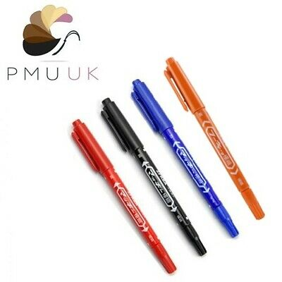 Permanent Makeup MARKER PENS - SPMU / Microblading - Double Ended Liner Outliner
