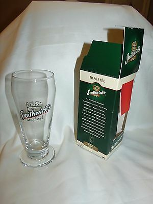 Smithwick's Beer Glass And Coaster By Guinness