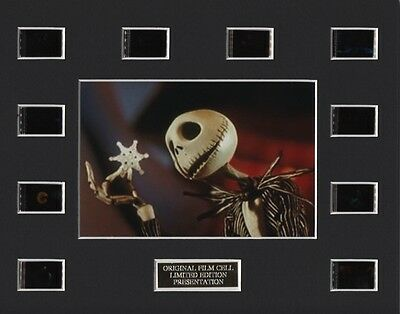 Nightmare Before Christmas  - 35mm Film Cell Display
