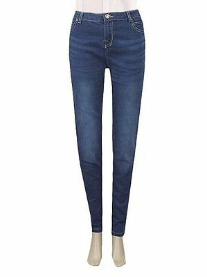 Ladies New Look Skinny Jeans Blue Sizes 6 to 16 Leg Lengths 30 31