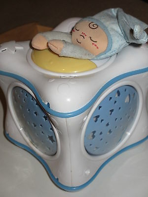 Chicco Rainbow Cube - Blue, used in good working condition