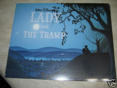 lady and tramp lithographs