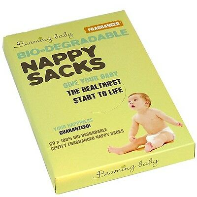 *OFFER* Beaming Baby Biodegradable Nappy Sacks (x60)