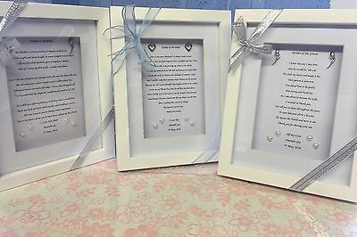 �� Unique & Personalised Mother Of The Bride/groom  Thank You Gift����