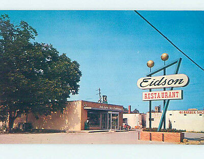 Unused Pre-1980 EIDSON RESTAURANT Chattanooga Tennessee TN hs4239