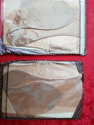 2 pair of vintage fully fashioned nylon stockings