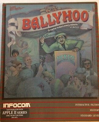 Infocom's Ballyhoo for Apple II (Complete)