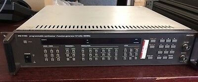 Philips PM5193 PROGRAMMABLE SYNTESIZER/FUNCTION GENERATOR 0.1mHz-50mHz