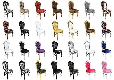 France Royal Baroque Style Dining Chair