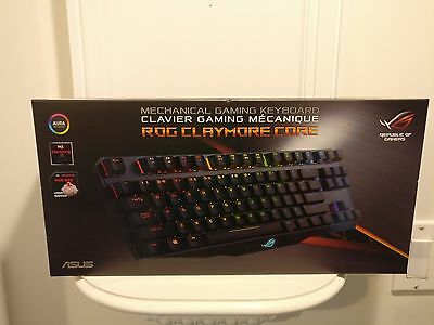 ASUS Mechanical Gaming Keyboard (ROG Claymore Core(Cherry MX Brown))