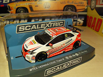 Scalextric C3783 Honda Civic Type R - Gordon Shedden - Brand New in Box