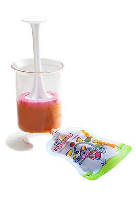 Fill n Squeeze Starter Pack (Pouch Filler and Squeezee pouches)