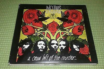 """INCUBUS """"A Crow Left of The Murder"""" album/CD"""