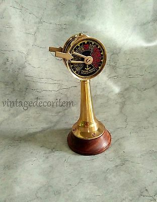 Antique Ship's engine Order Vintage Brass Telegraph Nautical