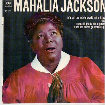 """3312  7"""" EP: Mahalia Jackson - He's Got The Whole World In His Hands"""