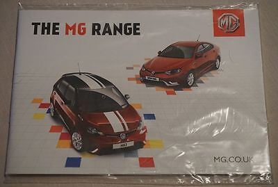 March 2016 MG 3 Time Form Sport Style & MG 6 S TS TL 43 Pg LAST EVER 6 BROCHURE!