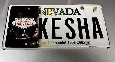 Nevada LAS VEGAS Auto Tag License Plate Centennial Edition W/ The Welcome Sign