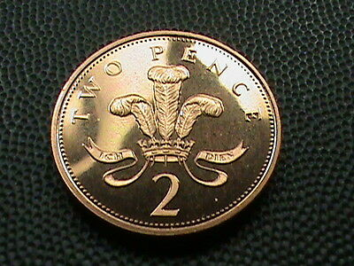 GREAT  BRITAIN    2  Pence    1998     PROOF