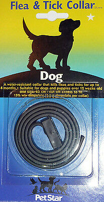 Small Medium Large Dog Dogs Flea Collar & Tick Treatment Dog Collar