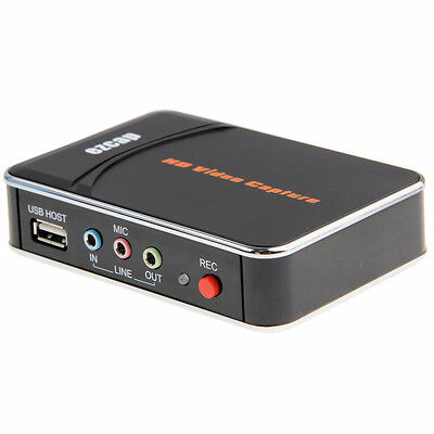 mb Acquisizione registrazione audio video recorder dvr HDMI full-HD dvr rgb usb