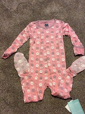NWT kickee pants Lotus ALIEN footie sz 3T