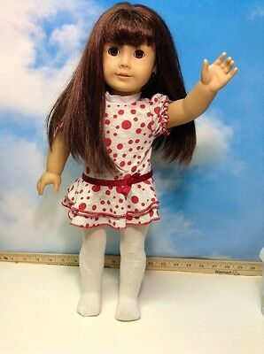 American Girl  Doll Brown/red Hair Brown Eyes (A)