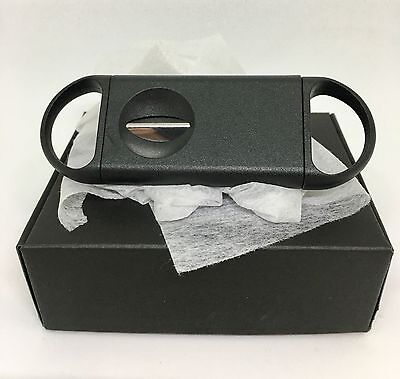 Cigar Cutter Stainless Steel V Cut Shape Blade Guillotine Knife Pocket Scissors