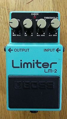 Boss LM-2 Limiter Guitar Pedal (made in Japan)