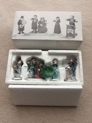 Heritage Village Chamber Orchestra Porcelain Figurines Set Of 4 New