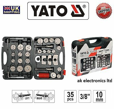 YATO PROFESSIONAL Brake Disc Pad Caliper Clamp Service Tool Left Right Kit 35pcs