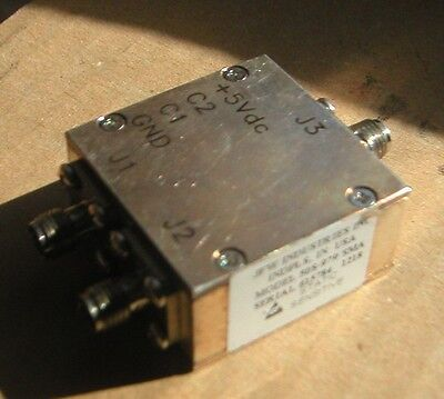 JFW industries 50S-979 SMA: RF SWITCH 1P2T 5-2500MHZ solid state PIN diode