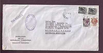 Italy cover To Argentina 1974 It1