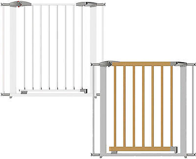 Clippasafe Extendable Swing Shut Gate Baby Child Toddler Stair Gate Safety BNIB