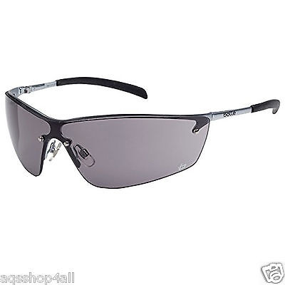 Bolle Silium Safety Shooting Protective Glasses Sunglasses SILPSF Smoke Lens NEW