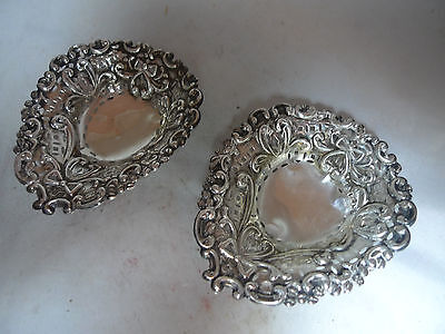 Victorian Silver Dishes Mitchell Bosley & Co Birmingham 1895 38.4g